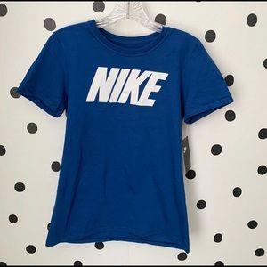 🆕MAKE OFFER NIKE BLUE/WHITE SHIRT SIZE S